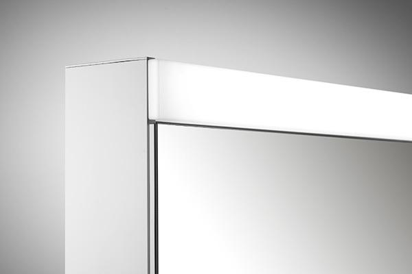 spiegelschrank pataline led pat 100 2 led schneider. Black Bedroom Furniture Sets. Home Design Ideas